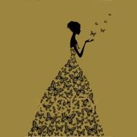 Butterfly Wall Art Stencil | www.imgkid.com - The Image ...