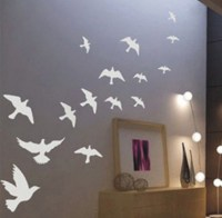 Mix pombo voador pssaro sala quarto Decor Mural Art Vinyl ...
