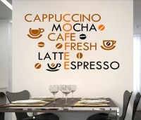 Coffee Shop Wall Decals Kitchen Wall Stickers Coffee ...