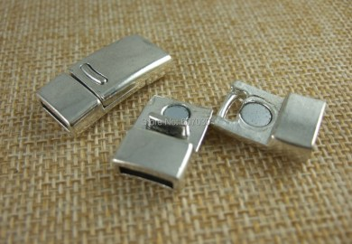 Magnetic Clasps For Flat Leather