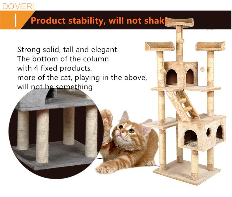 ღ Ƹ̵̡Ӝ̵̨̄Ʒ ღSisal Pets Cat Climbing Frames Toys Interactive Gatos ...