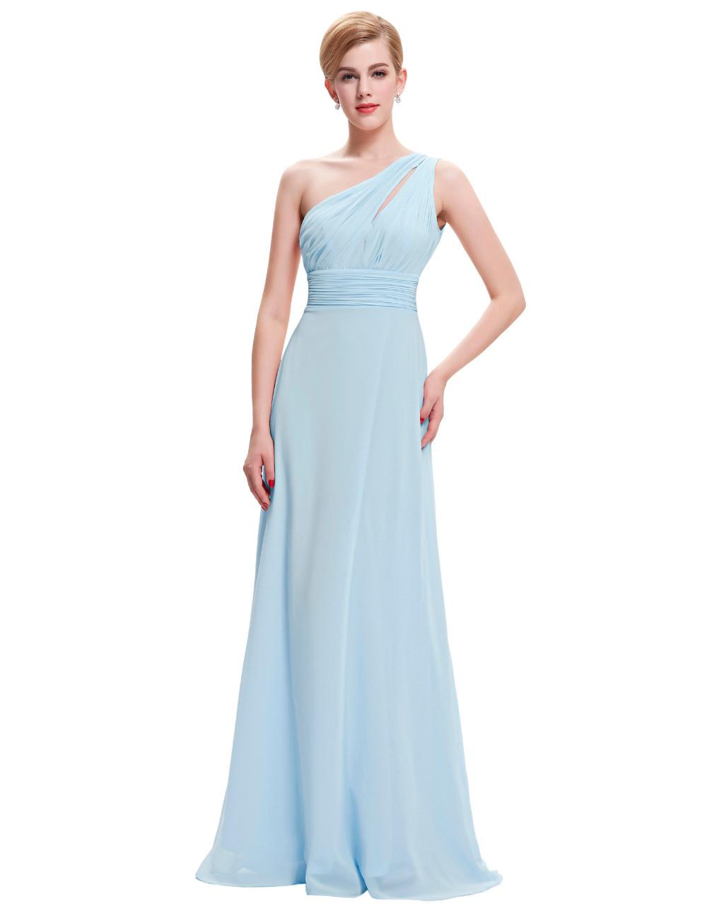 ᗖHombro atractivo formal Vestidos de noche para las mujeres ...