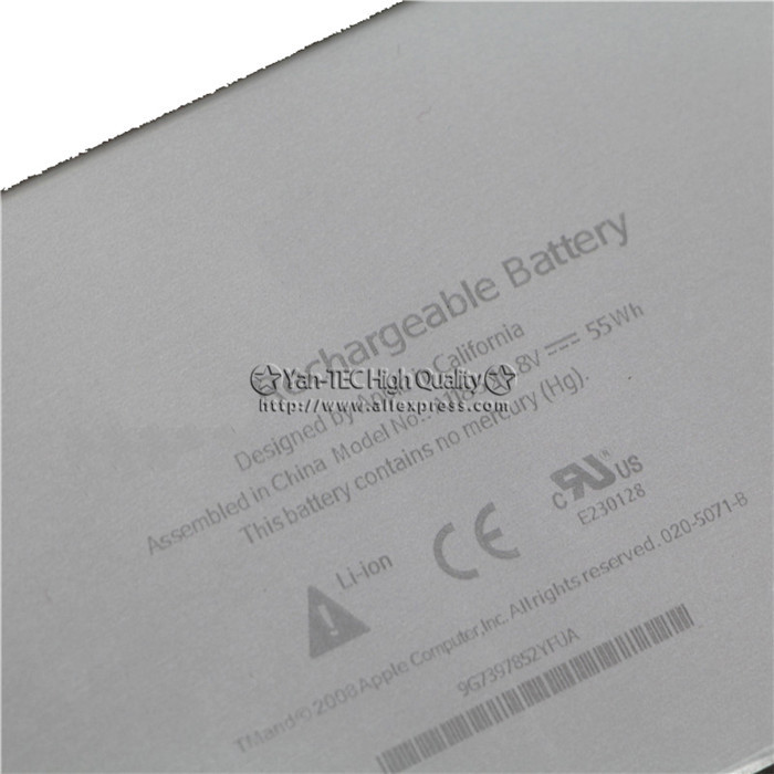 Batterie D Origine Forapple Macbook Pro 13 13 3 A1185 A1181 Ma561