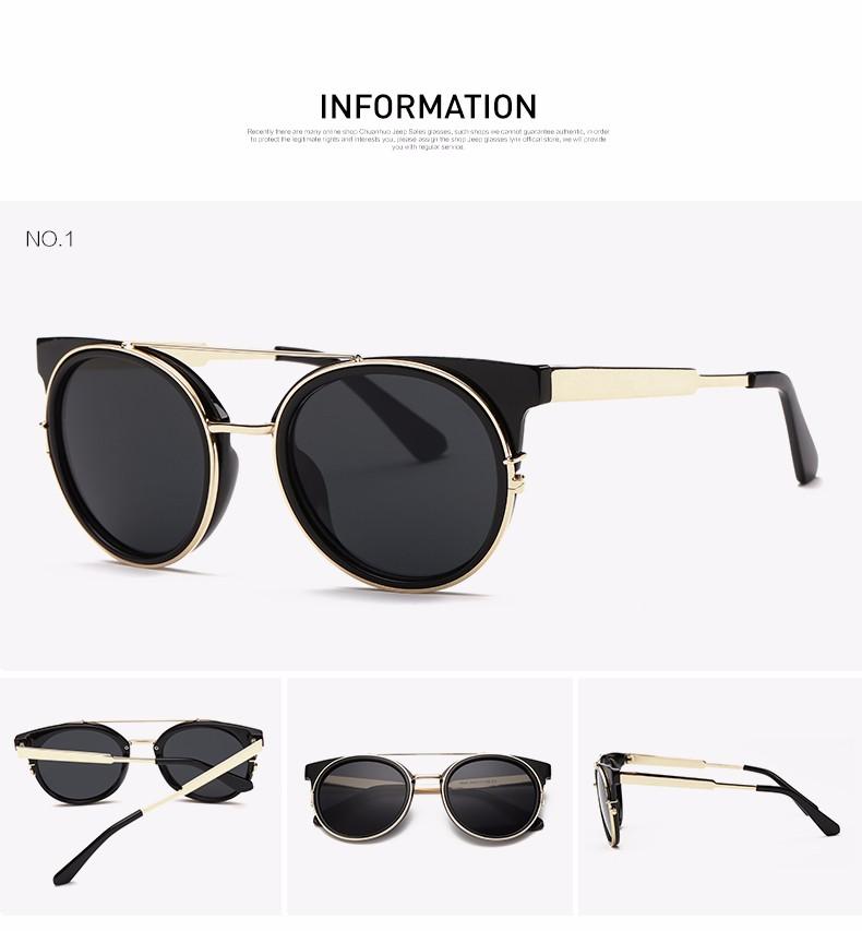 a716728107d92 Aevogue óculos de sol das mulheres mais novo de alta qualidade dupla  ponte-templo do metal óculos de sol da marca designer uv400 ae0358