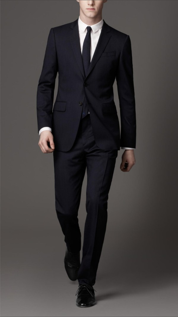 Men in Business Suits Smoking