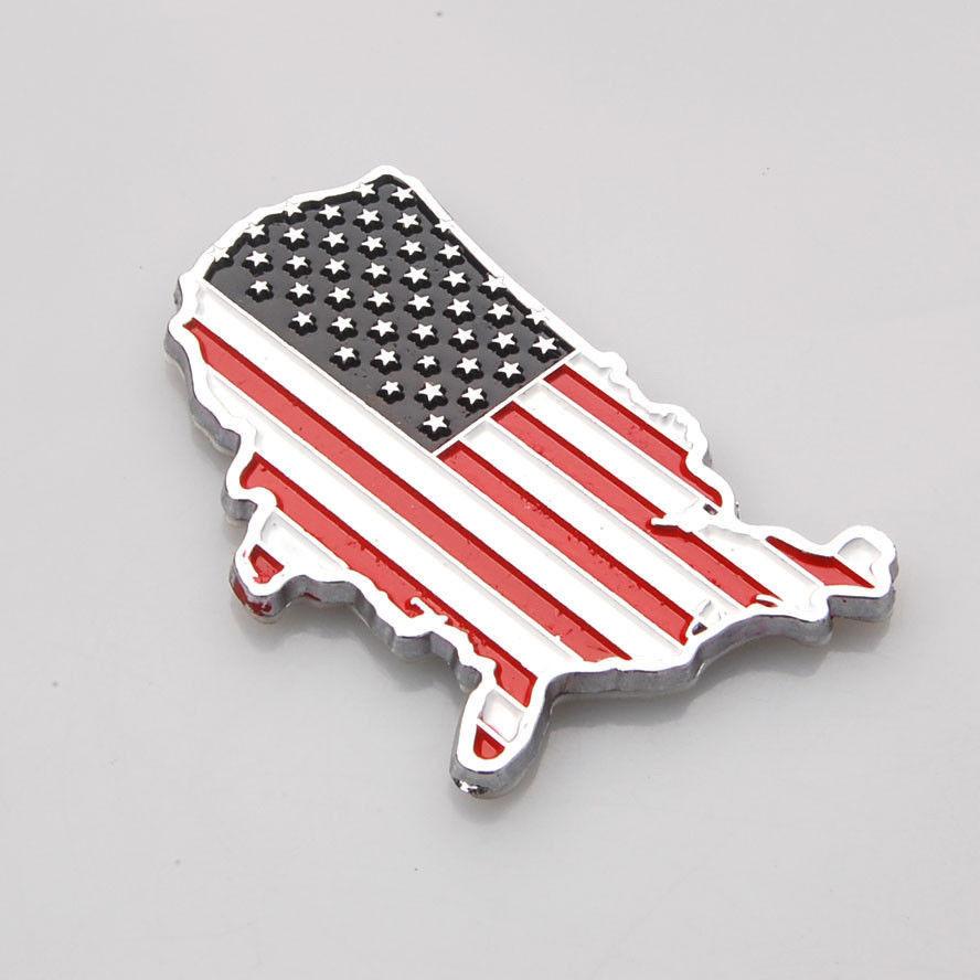 ̿̿̿(•̪ )50x nuevo 3D metal ee.uu. Estados Unidos bandera americana ...