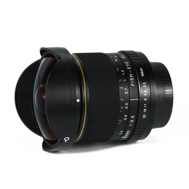 Lightdow 8mm F/3.5 Ultra Gran Angular de Lente de ojo de Pez para ...