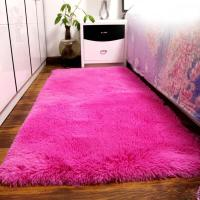 Fluffy Rugs Anti Skiding Shaggy Area Rug Dining Room ...