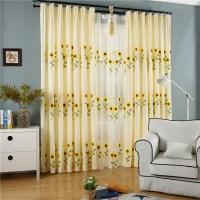 Popular Sunflower Curtains Bedroom-Buy Cheap Sunflower ...