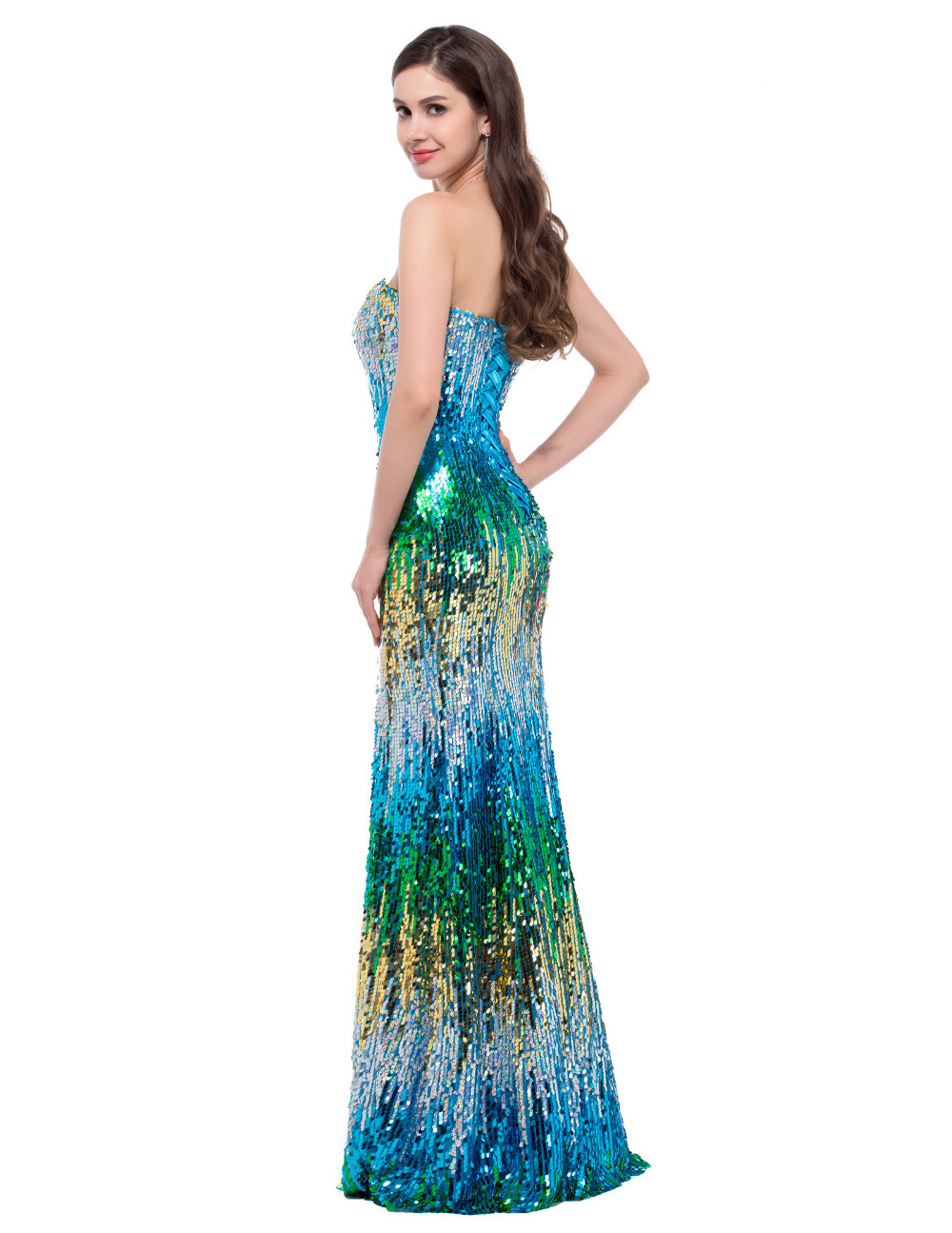 ⊱Mermaid Evening Dress Grace Karin 2018 New Arrival Luxury ...
