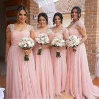 Popular Long Sleeved Pastel Bridesmaid Dresses-Buy Cheap ...
