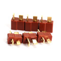 RC Lipo Battery Helicopter 10 Pair T Plug Connectors Male Female for Deans Free Shipping