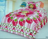 Strawberry shortcake bedroom comforter set twin bedding ...