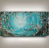 100%Hand painted modern home decor wall art picture ...