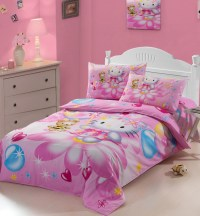 Bedding kids bedding set 100% cotton twill printing