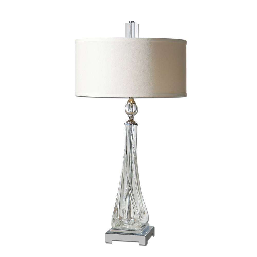 UTTERMOST neoclassical retro crystal table lamps Villa