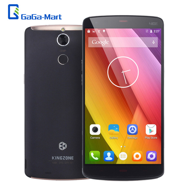 "KINGZONE Z1 Plus 4G 5.5"" IPS Smartphone Android 5.1 Octa Core MTK6753 2GB+16GB 13MP Fingerprint OTG HotKnot 3500mAh Mobile Phone"