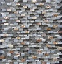 2016 Glass mosaic tiles,Stone Mosaic,mixed Shell Mosaic ...