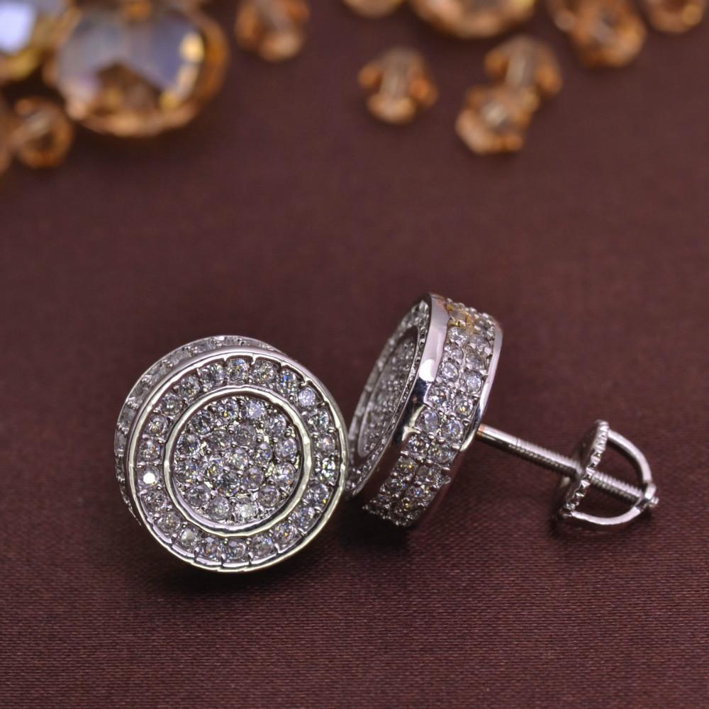 screw back earring for men jewelry earrings brass LSE846