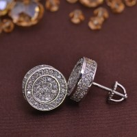 screw back earring for men jewelry earrings brass LSE846