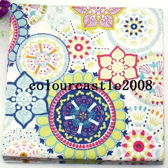 20 x Serviettes en papier Petit ange serviettes pack de 20 luxe serviettes
