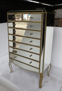 MR 401113L Mirrored drawers tall chest-in Bedroom Sets ...