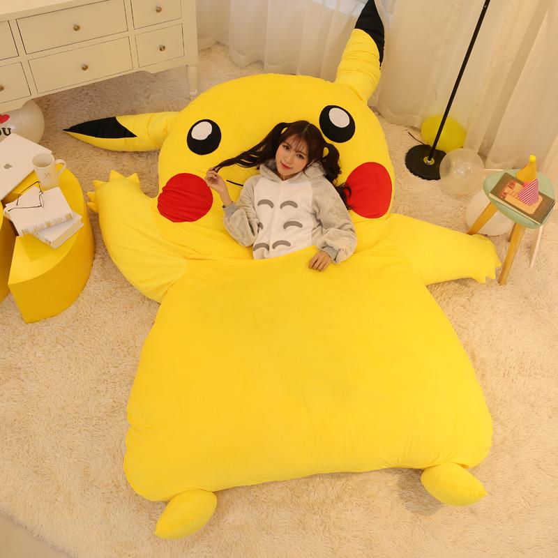 kitchen memory foam mat mobile home japan anime pikachu sleeping bag cartoon mattress ...