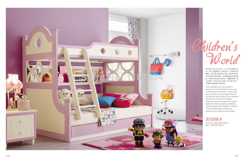 ᐊ3333 los niños muebles modernos de madera niños litera niños cama ...