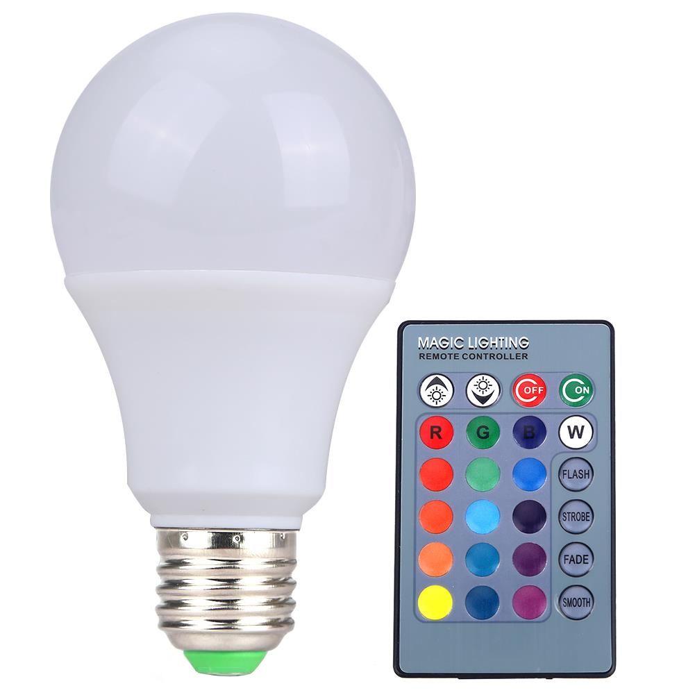 Rgb Led Light Bulb Remote