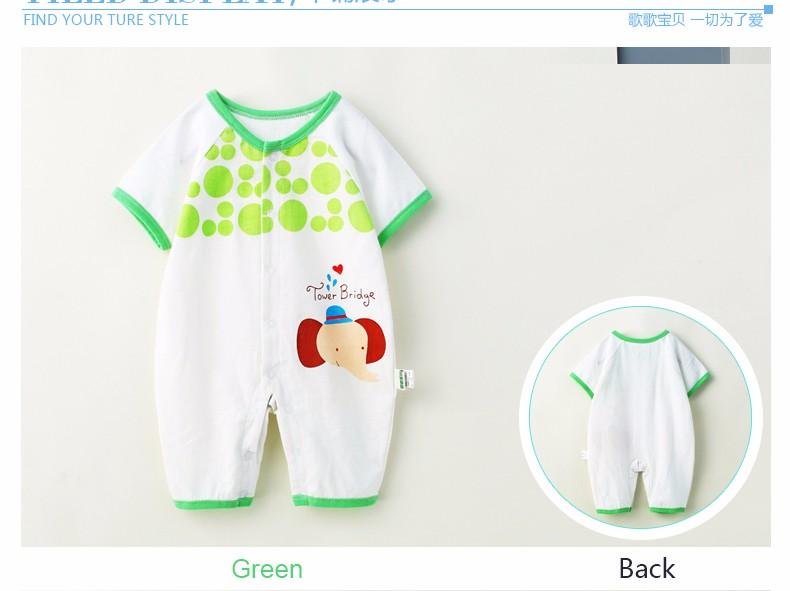 macacão de bebê recém-nascido menina infantil roupas de verãodetalhes do  produto 7b71d9613834c