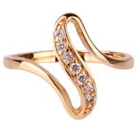 2016 Cheap Women Finger Rings 18K Gold Plated Engagement ...