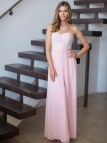 Light Pink Lace Bridesmaid Dress