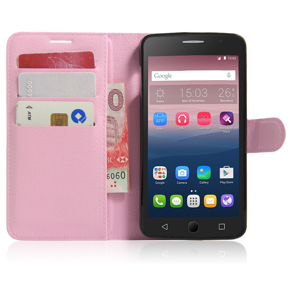 Hot Wallet Flip Pu Leather Case For Alcatel One Touch Pop Star 3g Goospery Iphone 8 Hybrid Dream Bumper Jet Black Ot5022 5022d 5022x 5022 Magnetic With Card Holder Stand