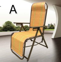 Outdoor chaise lounge chair folding mat-in Sun Loungers ...