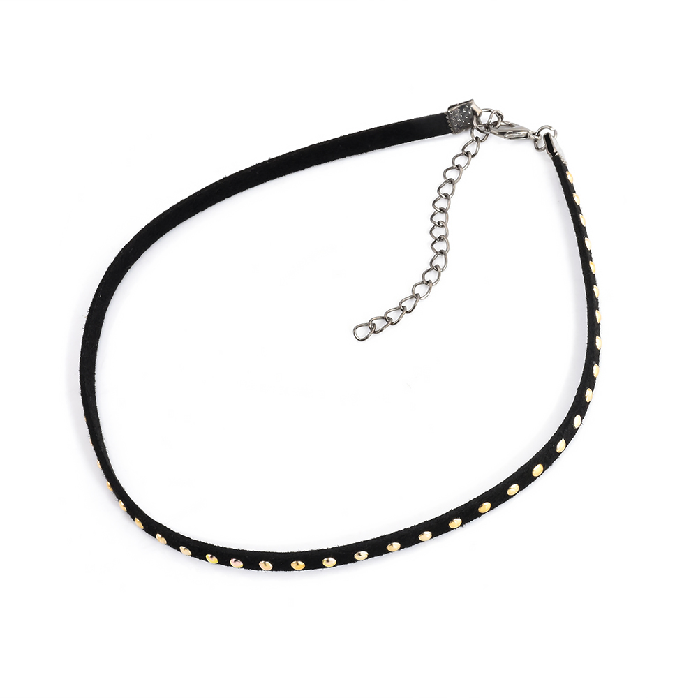 Nº1 pc vintage ᗖ chocker chocker necklace gothic punk
