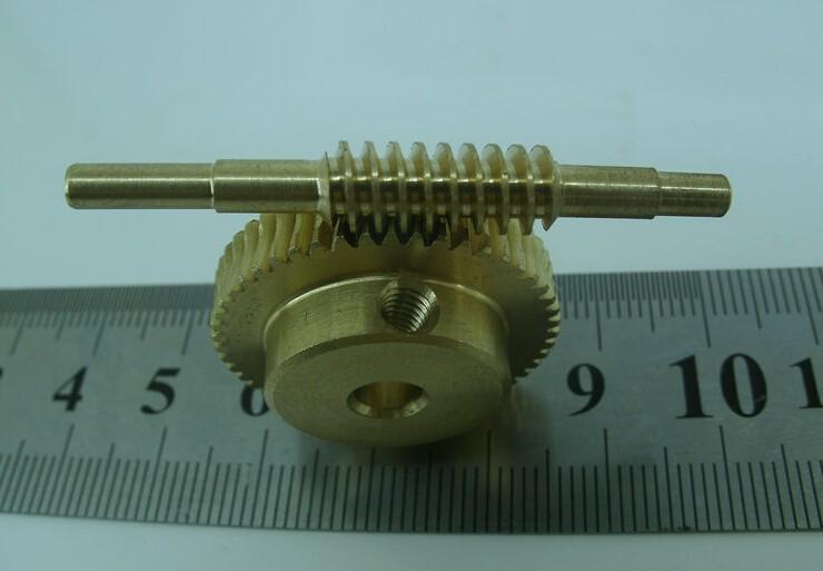 Click Here!! Durchmesser: 17mm Loch: 4mm 0,5 Mt 30 Zähnen 1:30 Kupfer  Vortex Wurm Stangen Getriebe Turbo Wurm Getriebe