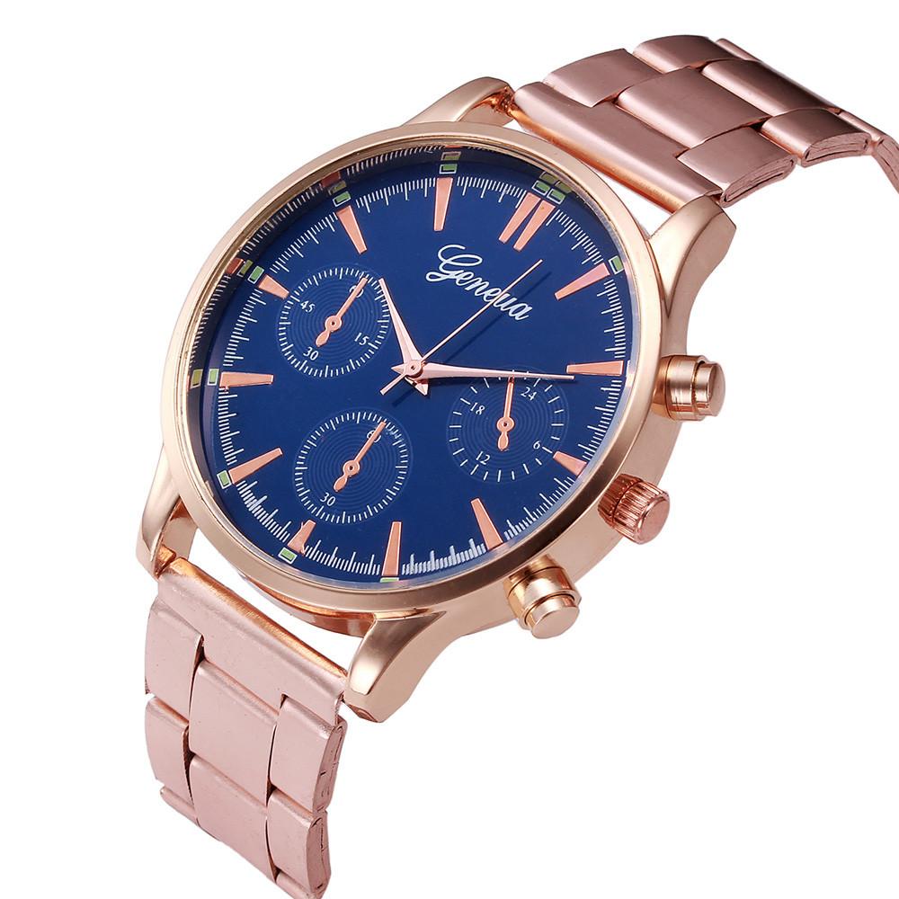 eff437a055c ღ ღSplendid Mulheres Unissex Relógios homens Moda Mulher Strass ...