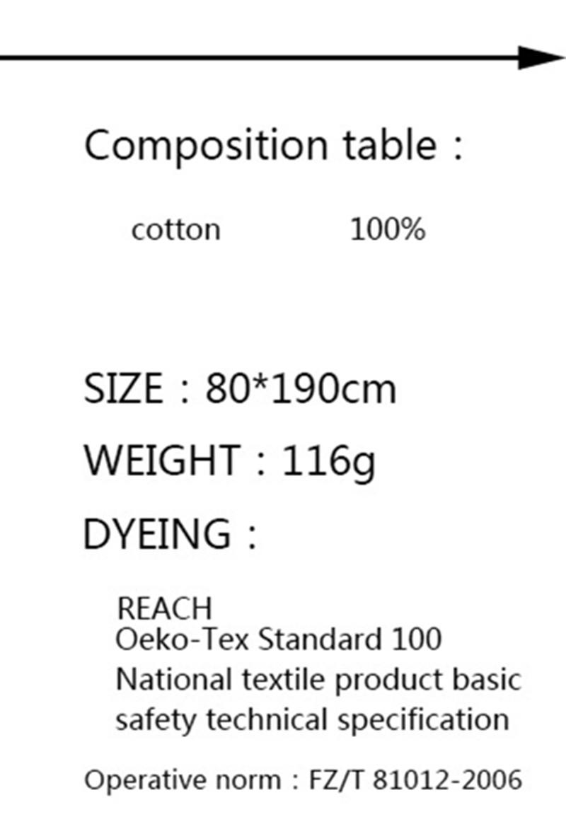 190x80 Nouveau printemps été grande taille écharpe bande fois coton écharpe  femme Foulards et Châle art colorblock coton mélange écharpes 7154034c611