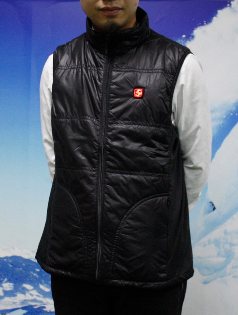 Savior Heated Vest Sports Riding Winter Use Health Care Neck Jacket Wiring And Back Side Heating Area Smart Control 74v Battery 3 Levels
