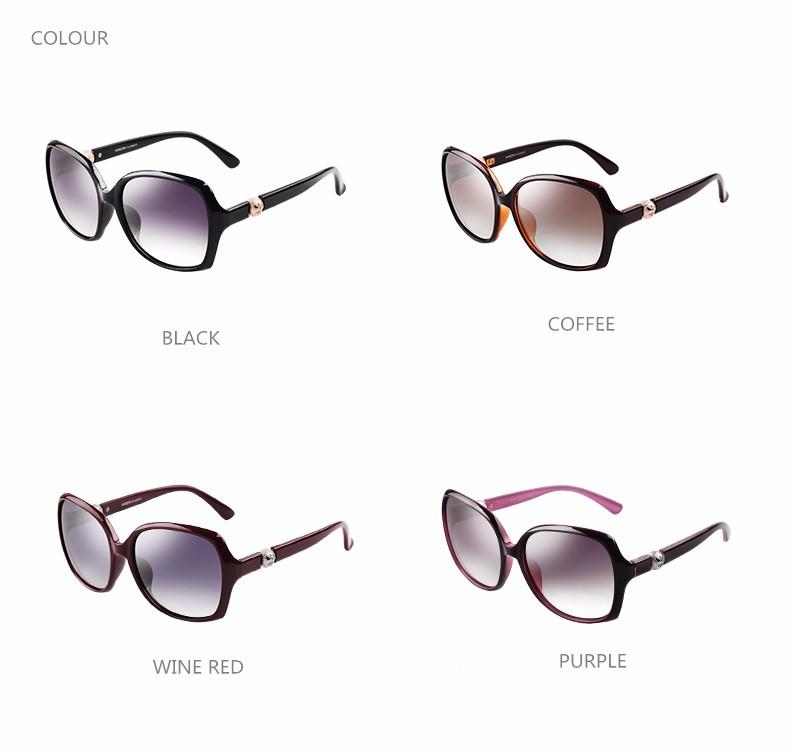 2bd0be9ccf Parzin perla sol polarizadas mujeres elegantes gafas de sol de moda oculos  de sol feminino gafas con caja 9223