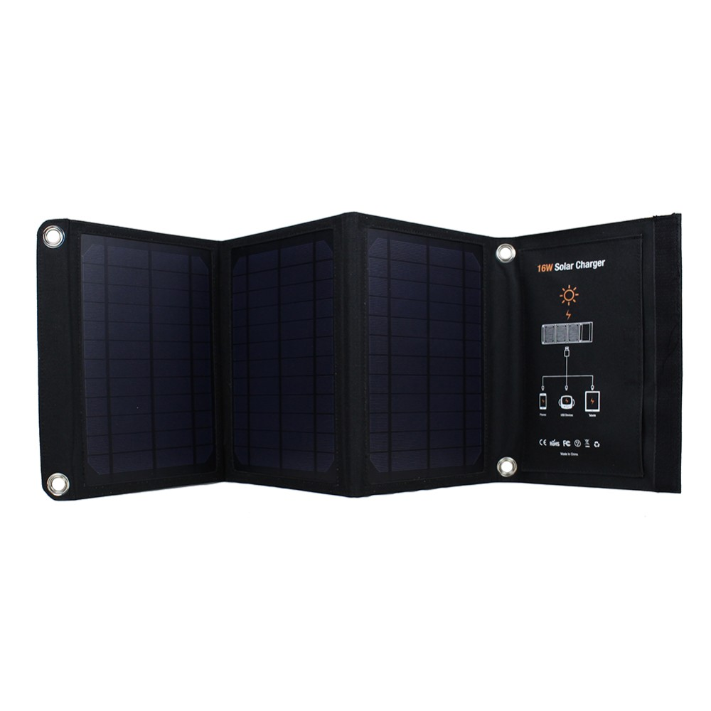 cf6dd973005 ₩High Quality 16W Portable Solar Charger for Mobile Phone For iPhone ...