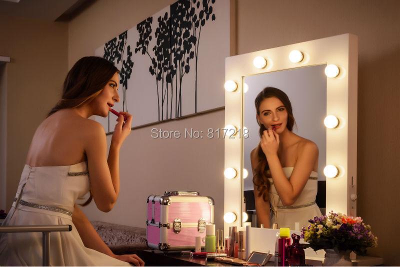Hollywood Station De Miroir De Maquillage Avec Des