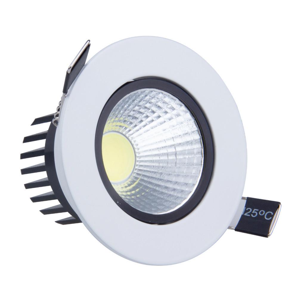 50pcs 6W 9W LED COB Spot light led Dimmable Recessed led