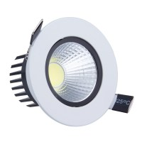 50pcs 6W 9W LED COB Spot light led Dimmable Recessed led ...