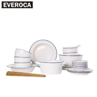 Online Buy Wholesale white ceramic dinnerware from China