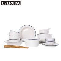 Online Buy Wholesale white ceramic dinnerware from China ...