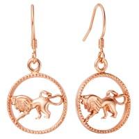 Zodiac Constellation Earrings Aquarius Pisces Aries Taurus ...