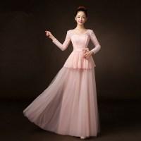 Purple Bridesmaid Dresses Long Sleeve - Wedding Dresses In Jax