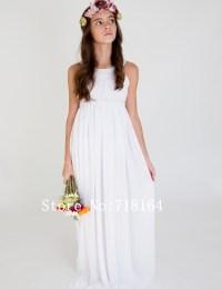 Aliexpress.com : Buy Vintage white ivory chiffon long ...