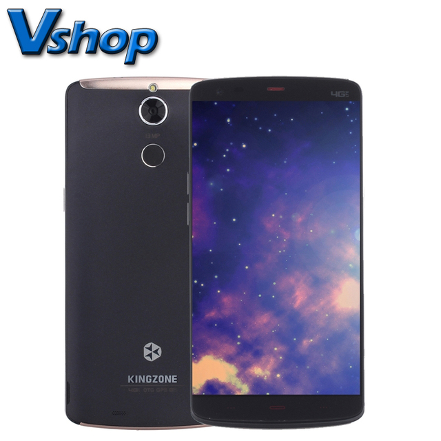 KINGZONE Z1 Plus 5.5 inch MTK6753 Octa Core 1.3GHz 16GB ROM 2GB RAM Android 5.1 4G Phone Metal Body 8MP+13MP Case + Film Free